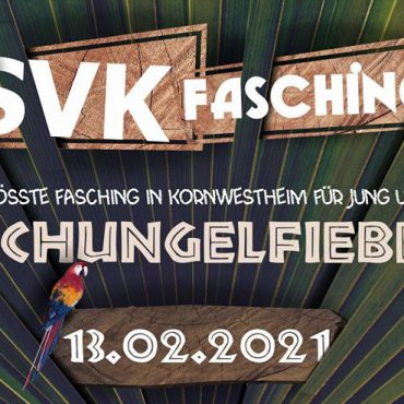 SVK Fasching 2021 Markus Wahsner Eventagentur Kornwestheim